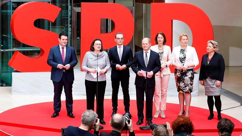 SPD: Im Schatten der Union