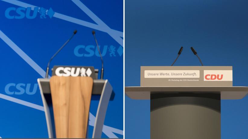 Asylstreit der Union: Kommen CSU und CDU doch noch irgendwie zueinander im Asylstreit.