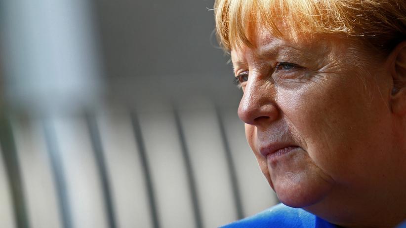 """Bundeskanzlerin Angela Merkel: """"Europa ist in einem Transformationsprozess."""" Ausgang offen."""