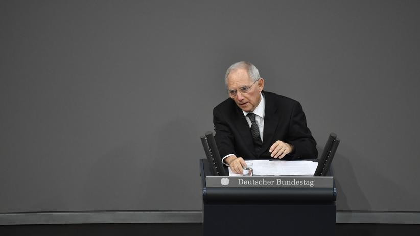 """Wolfgang Schäuble: """"Wir haben alle in den Abgrund geschaut"""""""