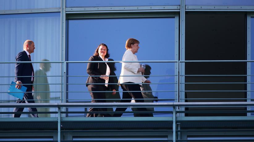 Asylkompromiss: SPD und Union vertagen Beratung über Asylkompromiss