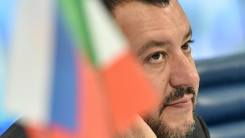 Europäische Union: Innenminister Matteo Salvini