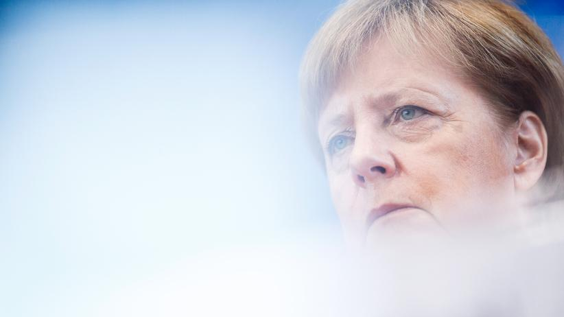 Union und Linke: Bundeskanzlerin Angela Merkel (CDU)