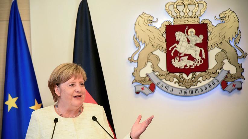 """Angela Merkel: """"Ich will mich da ausdrücklich zur Pressefreiheit bekennen"""""""
