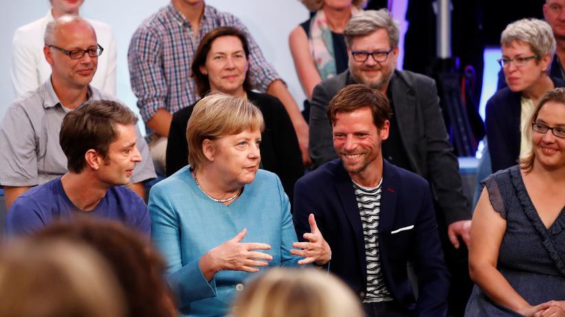 Angela Merkel: Routiniert, bis es um Europa geht