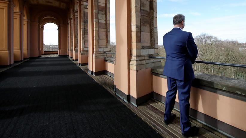 Markus Söder: Mit der Arbeit des bayerischen Ministerpräsidenten Markus Söder (CSU) ist nur ein Drittel der Befragten zufrieden.