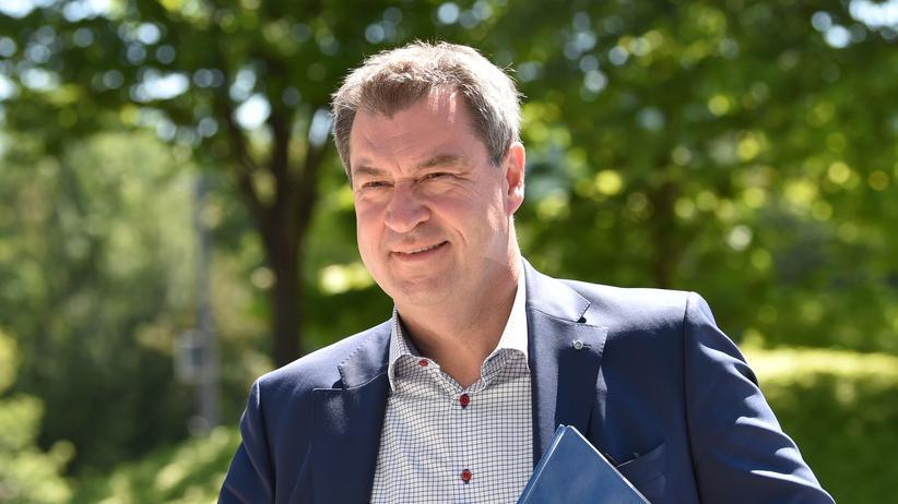 Wahlkampf in Bayern: Bayerns Ministerpräsident Markus Söder