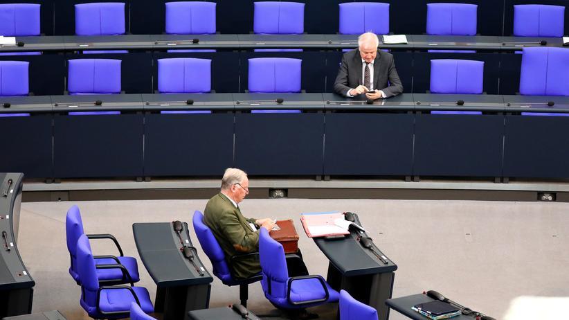 """Bundesinnenminister : AfD verklagt Horst Seehofer wegen Bezeichnung """"staatszersetzend"""""""