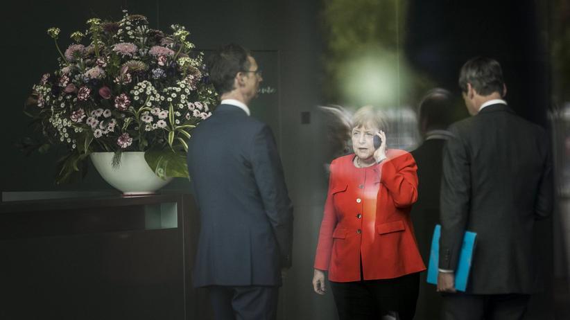 Angela Merkel: Jetzt kann die Kanzlerin ihren Abgang moderieren