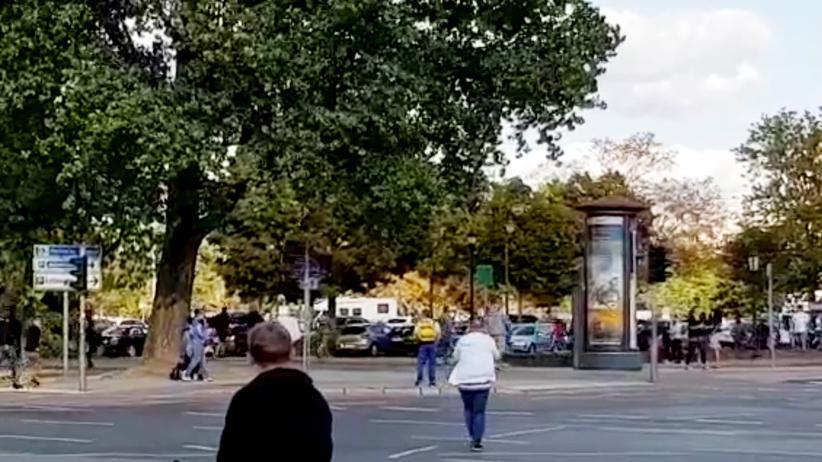 Video von Chemnitz: Eine Szene aus dem umstrittenen Video