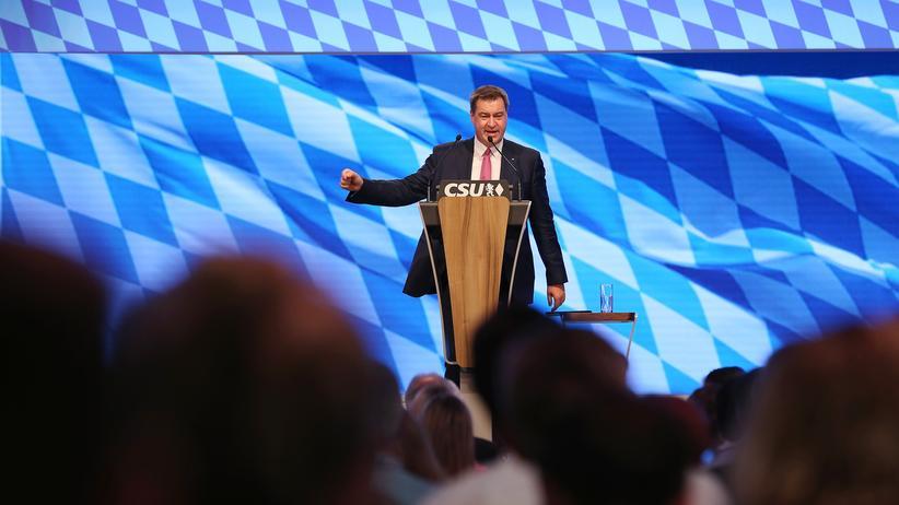 CSU-Parteitag: Der Anti-AfD-Kurs ist unglaubwürdig