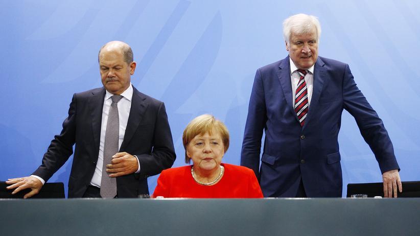 Politbarometer: Große Koalition verliert in Umfrage die Regierungsmehrheit