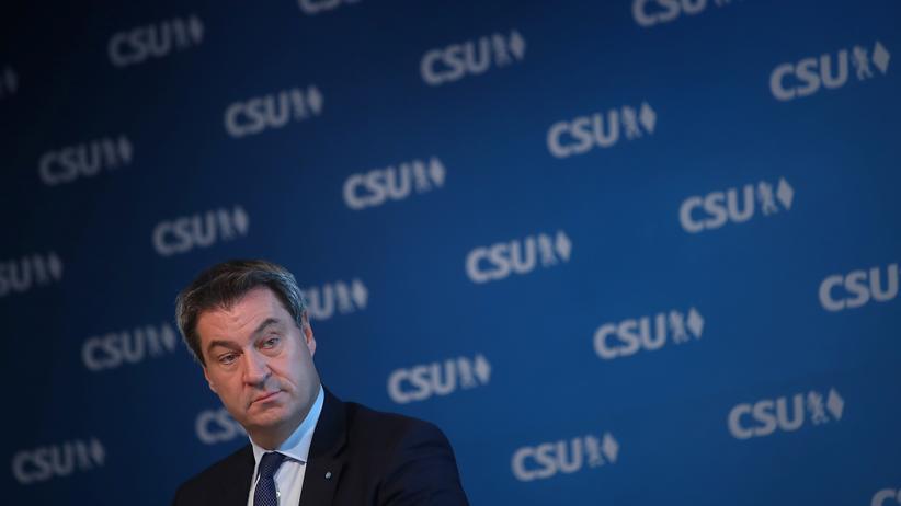 CSU: Markus Söder kündigt härteres Vorgehen gegen AfD an