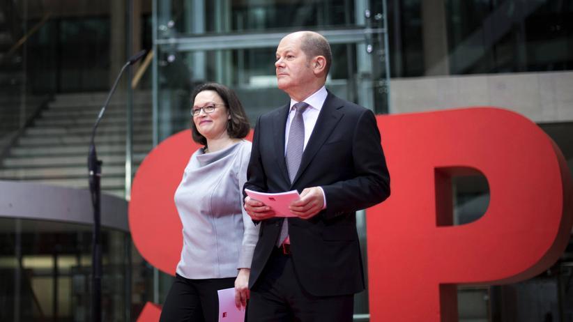 SPD: Nun gilt es, den Mut zu bewahren