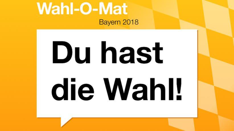 Wahl-O-Mat: Mitte Oktober dürfen die wahlberechtigten Bewohner Bayern ihre Stimme abgeben.