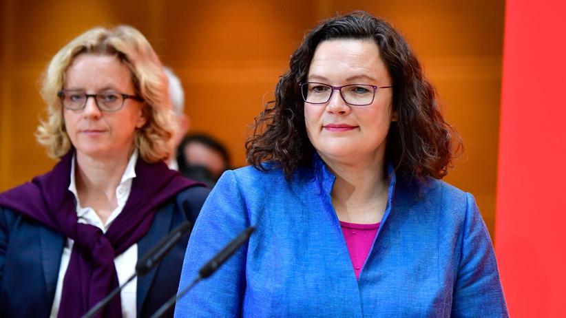SPD: Andrea Nahles will nach vorn schauen