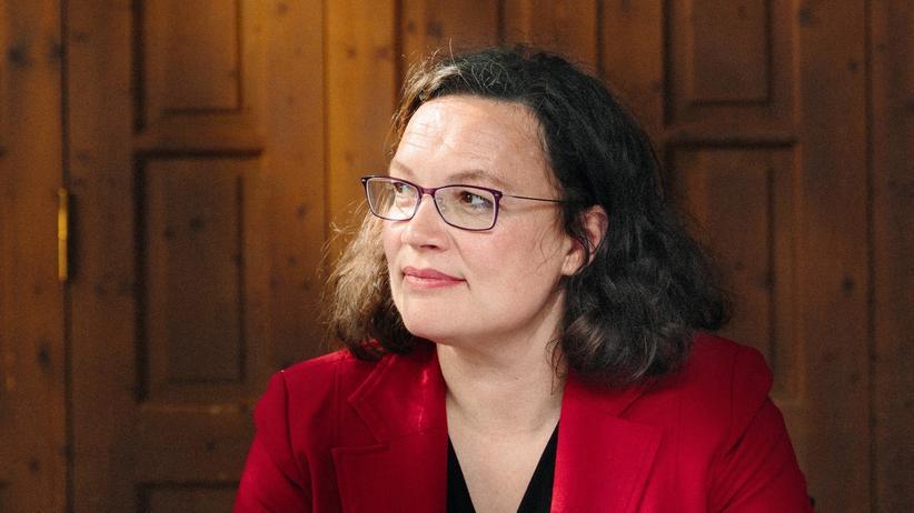 Andrea Nahles: Sie ist auch genervt von der Unduldsamkeit in den eigenen Reihen: Andrea Nahles