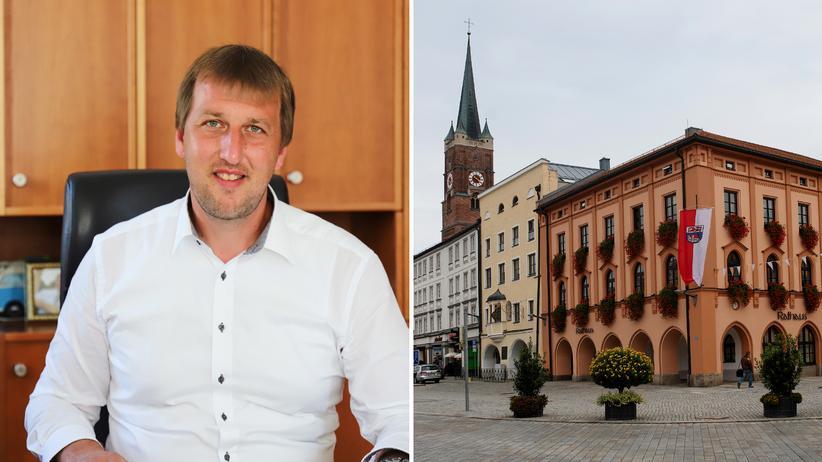 AfD in Bayern: Wolfgang Beißmann, der Bürgermeister, sagt, die Politik müsse mehr für die Bürger da sein.