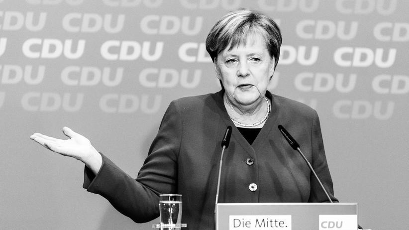Bundeskanzlerin: Kanzlerin Angela Merkel hat ihren Rückzug vom Parteivorsitz der CDU angekündigt.