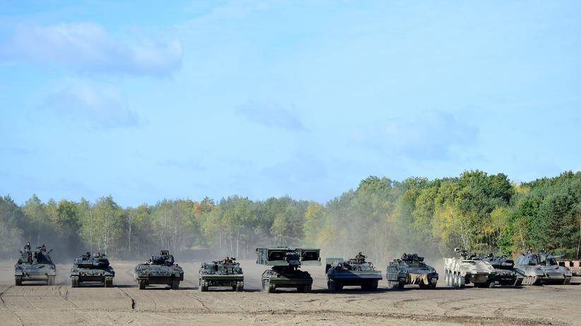 Bundeswehr: Nur jeder dritte neue Panzer ist einsatzbereit