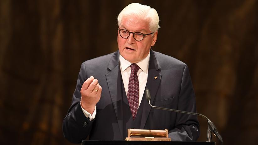 Frank-Walter Steinmeier : Bundespräsident fordert mehr demokratischen Patriotismus
