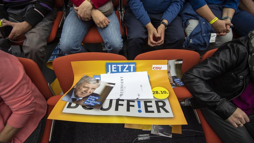 """Hessen-Wahl: Thorsten Schäfer-Gümbel kritisiert """"Gelaber"""" der großen Koalition"""