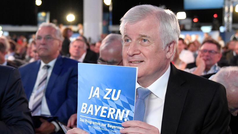 Landtagswahl in Bayern: CSU will Koalitionsverhandlungen offenbar ohne Seehofer führen