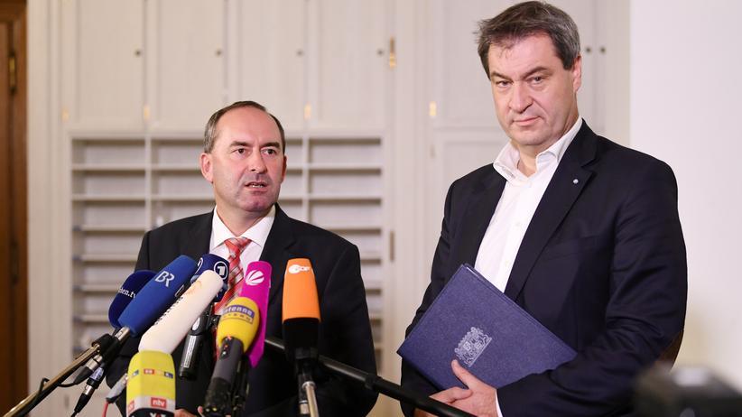 """Sondierungsgespräche: CSU und Freie Wähler sehen """"großes Maß an Übereinstimmungen"""""""