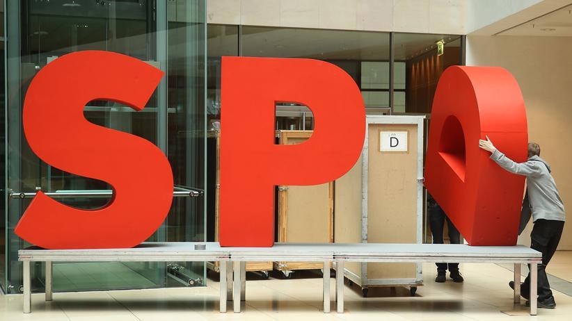 Große Koalition: Viele in der SPD sind unzufrieden mit der großen Koalition.