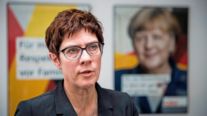 Deutschlandtrend: Mehrheit der CDU-Anhänger für Annegret Kramp-Karrenbauer