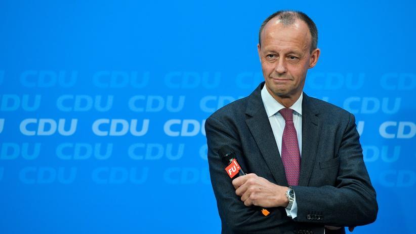 Friedrich Merz: CDU-Politiker Friedrich Merz