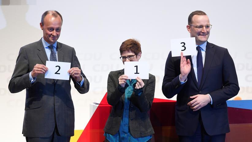 CDU-Vorsitz: Eins, zwei, drei, die Kandidaten kommen vorbei