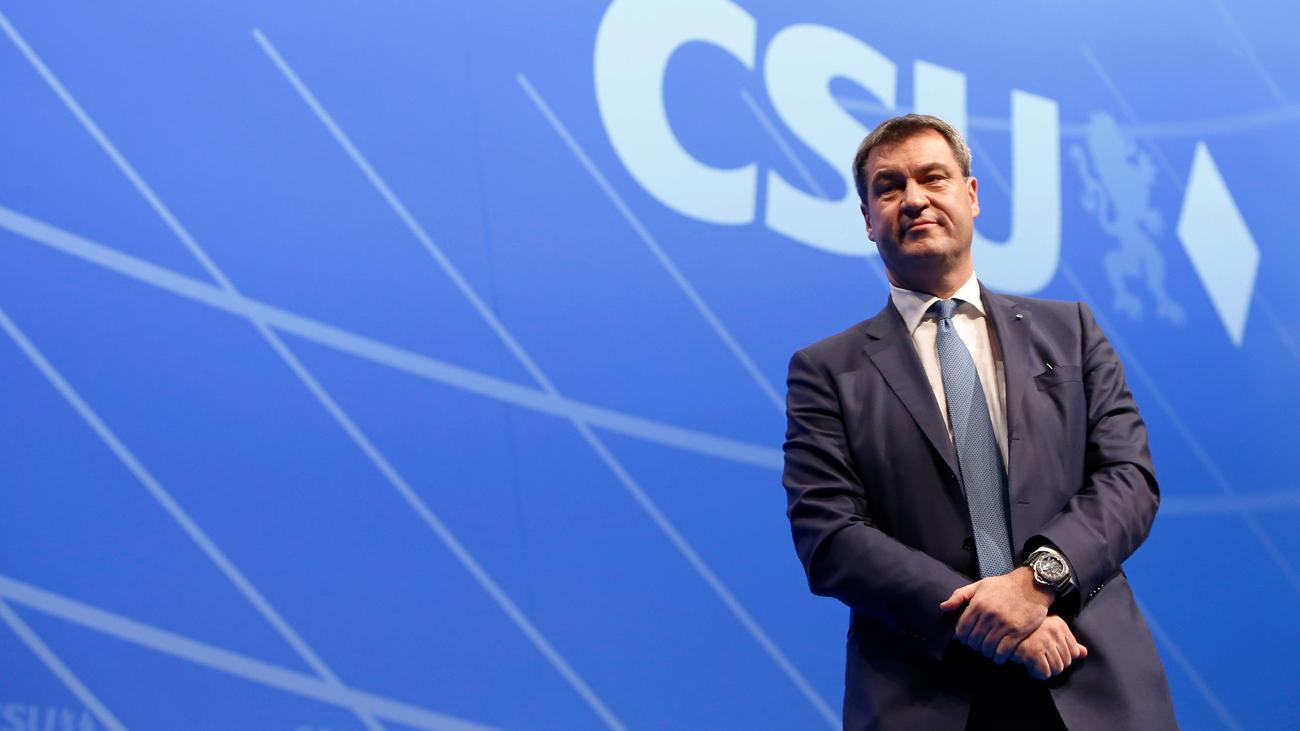 CSU: Markus Söder kandidiert für den CSU-Vorsitz