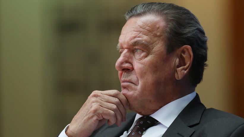 Gerhard Schröder: Altbundeskanzler Gerhard Schröder im Jahr 2016