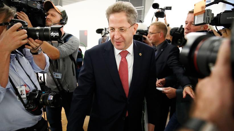 Verfassungsschutzpräsident: Hans-Georg Maaßen kann sich Wechsel in die Politik vorstellen