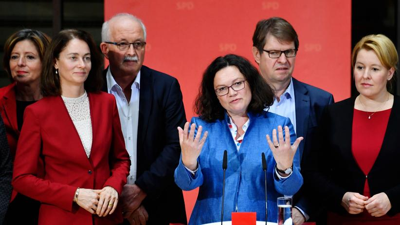 """Andrea Nahles: """"Es braucht eine starke SPD"""""""