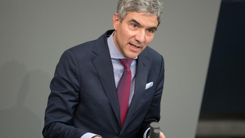 Stephan Harbarth: Stephan Harbarth (CDU) im Bundestag
