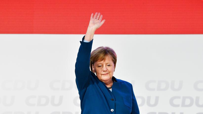 Letzte Rede als CDU-Chefin: Typisch Merkel