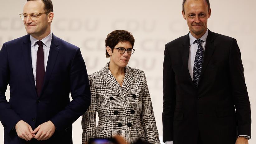 CDU: Friedrich Merz unterliegt Annegret Kramp-Karrenbauer