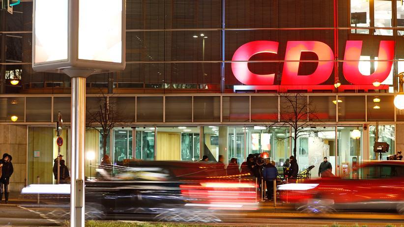 CDU: Das Konrad-Adenauer-Haus, der Hauptsitz der CDU in Berlin