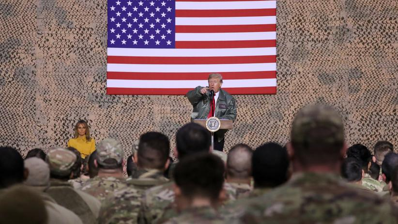 Donald Trump im Irak: Röttgen hält USA als Weltordnungsmacht für unersetzbar