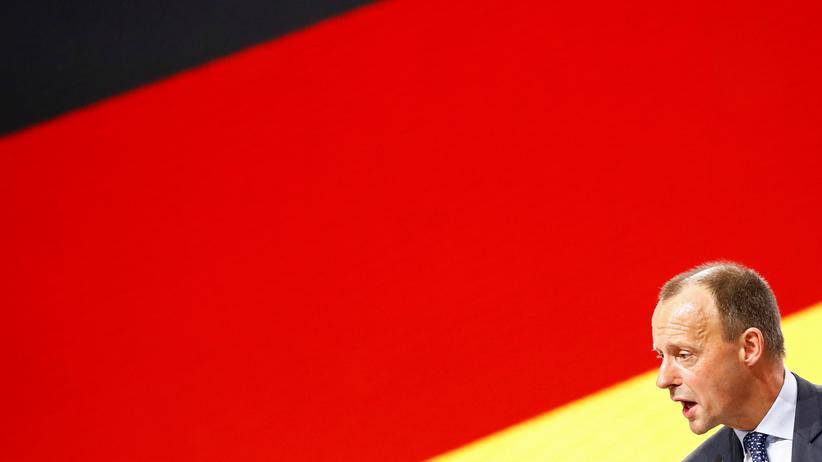 CDU: Friedrich Merz auf dem CDU-Parteitag in Hamburg Anfang Dezember: eine Niederlage, die kein Endpunkt sein muss