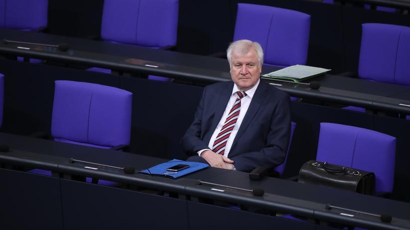 Frontex: Innenminister Horst Seehofer (CSU) im Bundestag