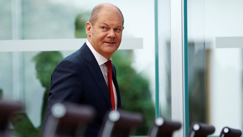Bundeshaushalt: Bundesfinanzminister Olaf Scholz