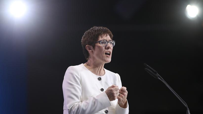 CDU-Klausur: CDU-Chefin Annegret Kramp-Karrenbauer