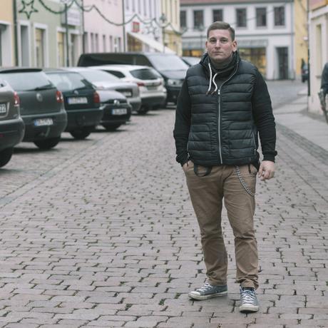 Sachsen: NPD Stadtrat Stefan Trautmann. Bild vom 26. November 2018