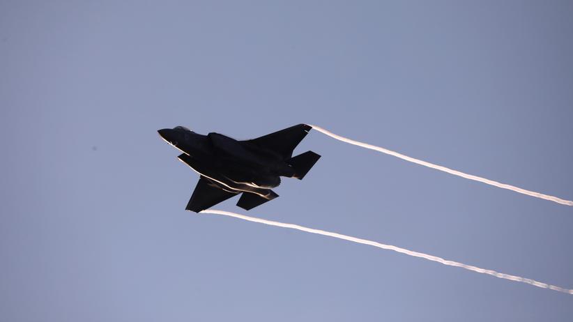 Luftwaffe: Eine israelische F-35 (2018)