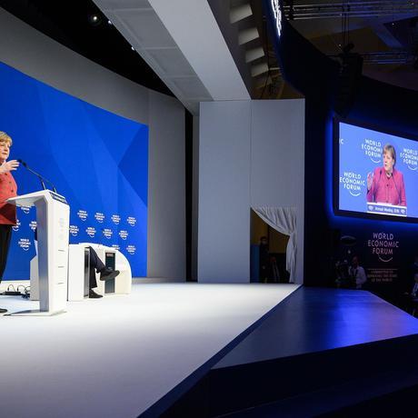 Weltwirtschaftsforum: Danke, Merkel