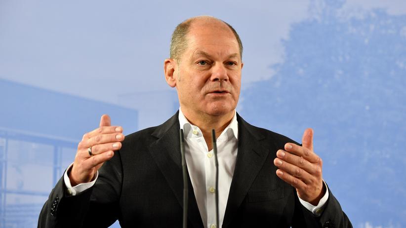 Große Koalition: Finanzminister Olaf Scholz (SPD)