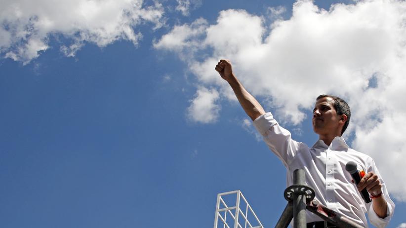 Venezuela: Die USA und andere Staaten haben Juan Guaidó bereits als Übergangsstaatschef anerkannt.